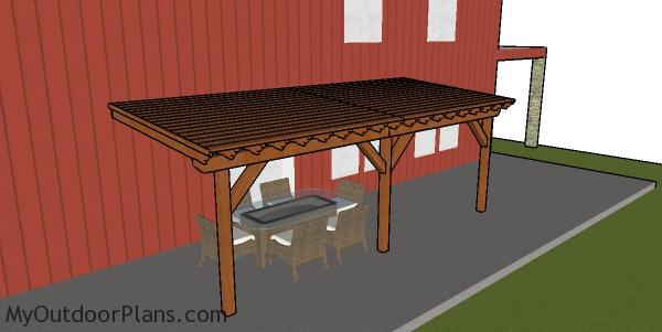 Patio Cover Plans Myoutdoorplans Free Woodworking