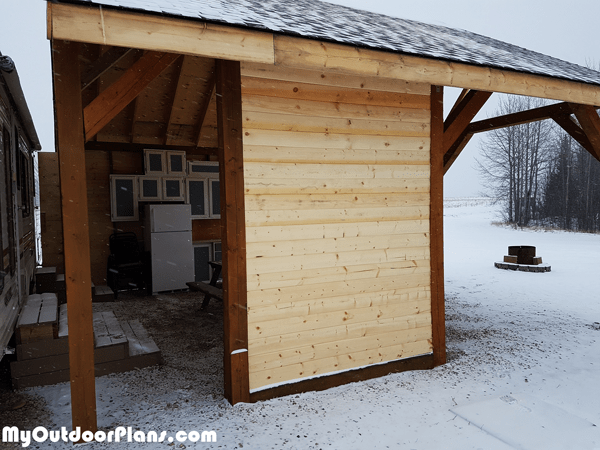 20x20 Picnic Shelter Diy Project Myoutdoorplans Free