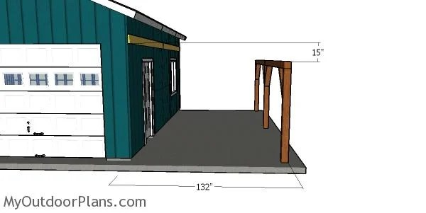 Carport Attached To The House Plans Myoutdoorplans