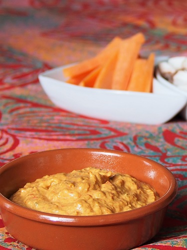 Red Bell Pepper Dip