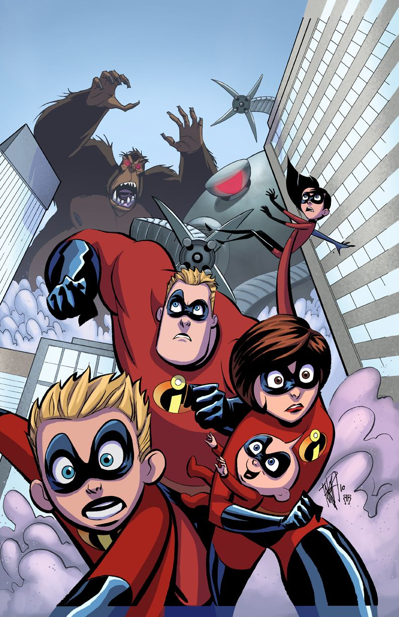 And Characters Powers Incredibles