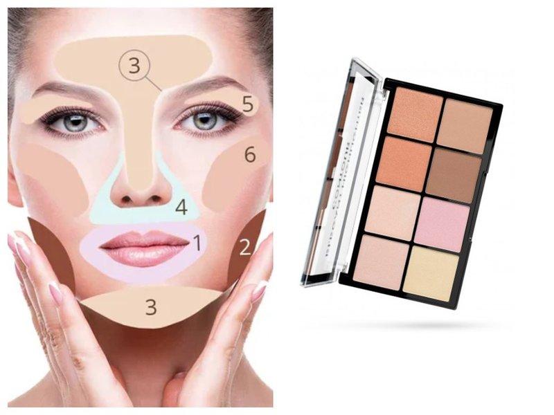 Disfarçar áreas problemáticas no rosto