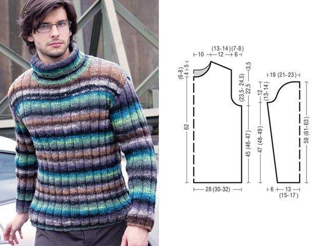 बुनाई सुइयों के साथ एक पुरुष स्वेटर कैसे बांधें: सरल योजनाएं