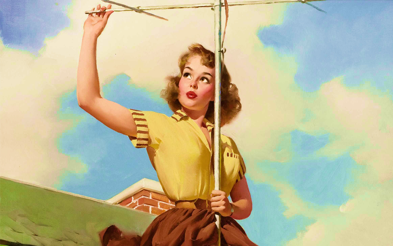 Time to show up / Pinups by Gil Elvgren | my undesired dreams