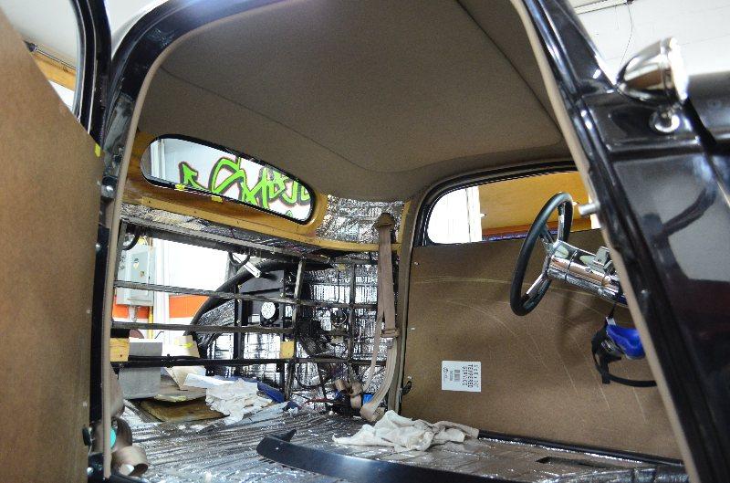 Shusta Custom Interior Hot Street Rat Rod Upholstery 1934 Ford