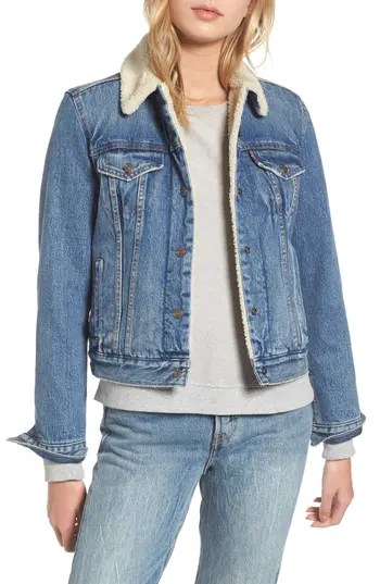 Juniors Levi Denim Jackets