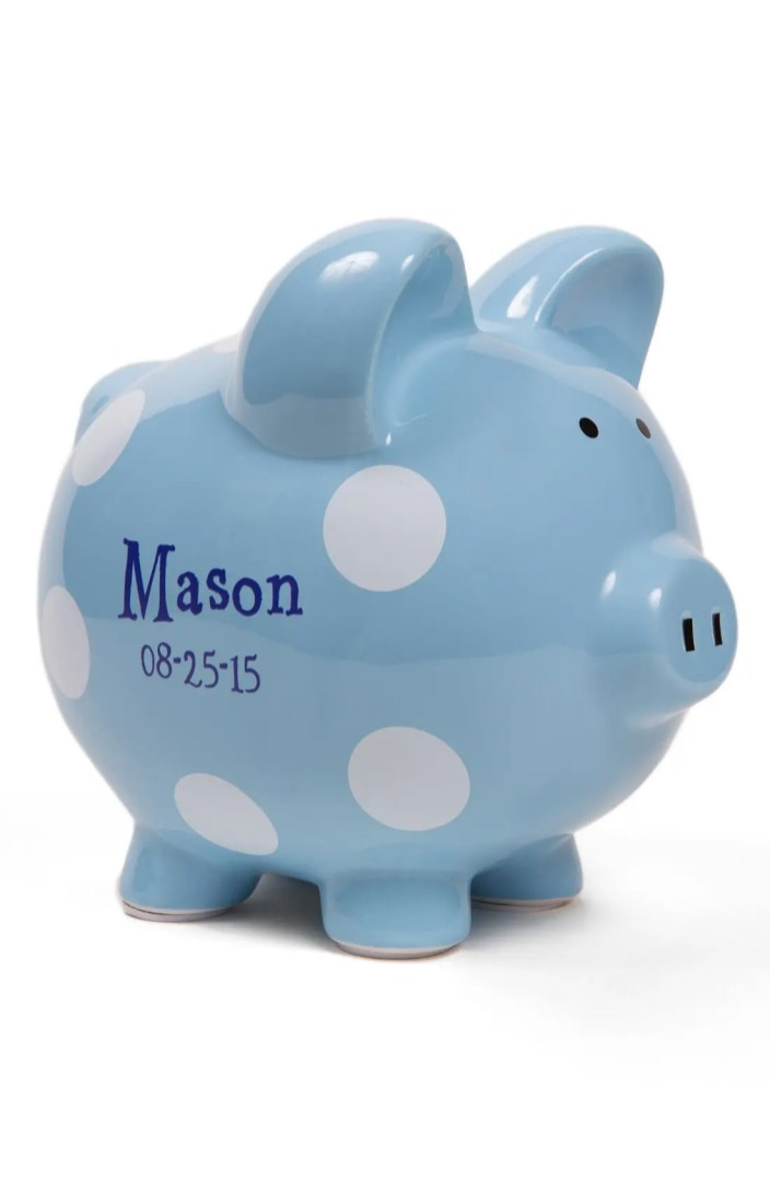 Personalized Bank Ceramic Piggy