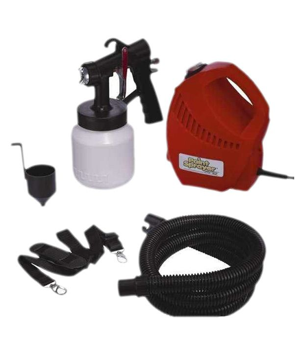 Buy IBS Paintsprayer Paint Sprayer Pro Red Spray Painting Home         IBS Paintsprayer Paint Sprayer Pro Red Spray Painting Home Portable  Tool Kit With Spray Gun Nozzle