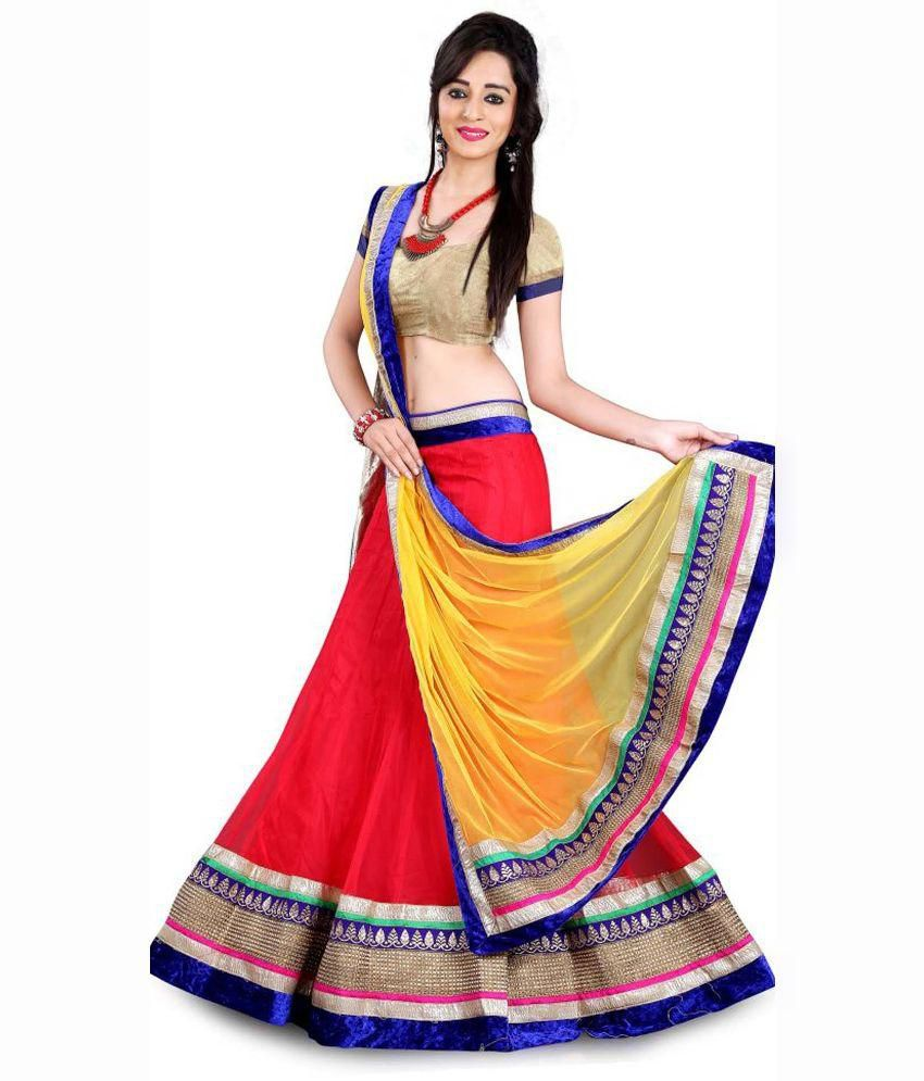 Vedika Fashion Red Net Lehenga  Questions and Answers for Vedika     Vedika Fashion Red Net Lehenga