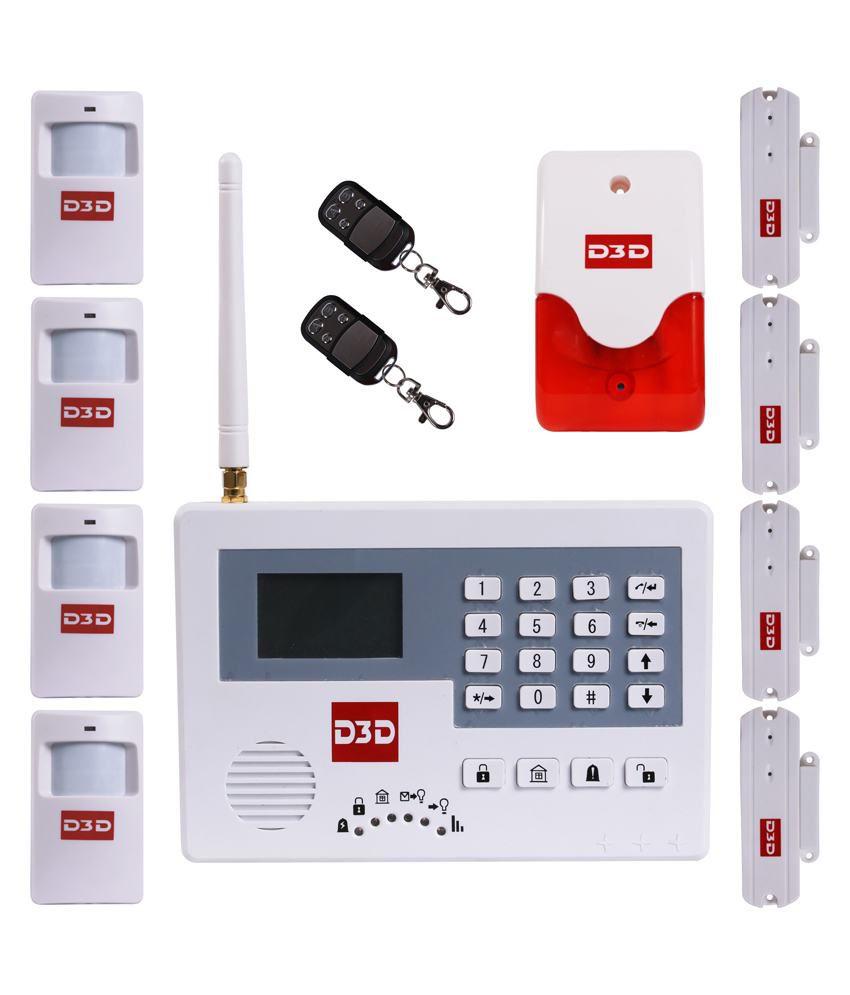 D3d Security Alarm System New Delhi Delhi