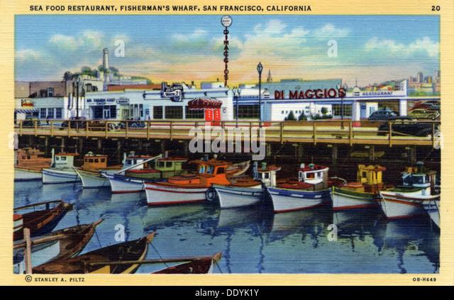Seafood Restaurants Fishermans Wharf San Francisco Ca