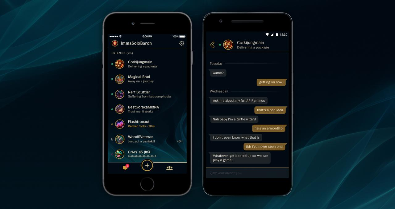 Download the free League Friends mobile app    League of Legends You are here