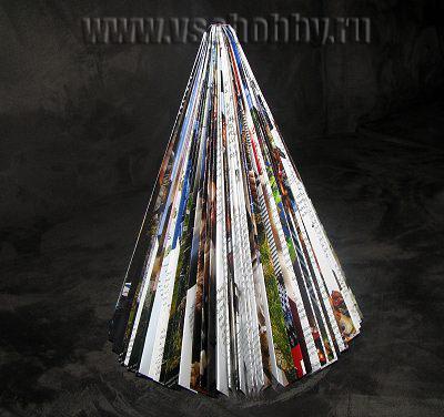 Foto Handmade Pyramid Crăciun Crăciun din jurnalul inutil