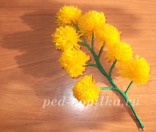 Hoa từ chủ đề tự làm