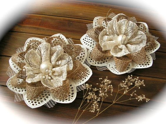 Burlap can be lace