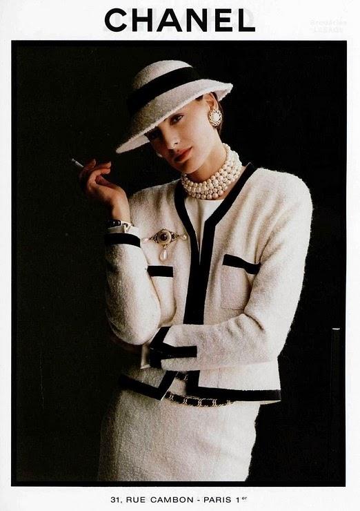 Coco Chanel a kedvenc díszítésekben
