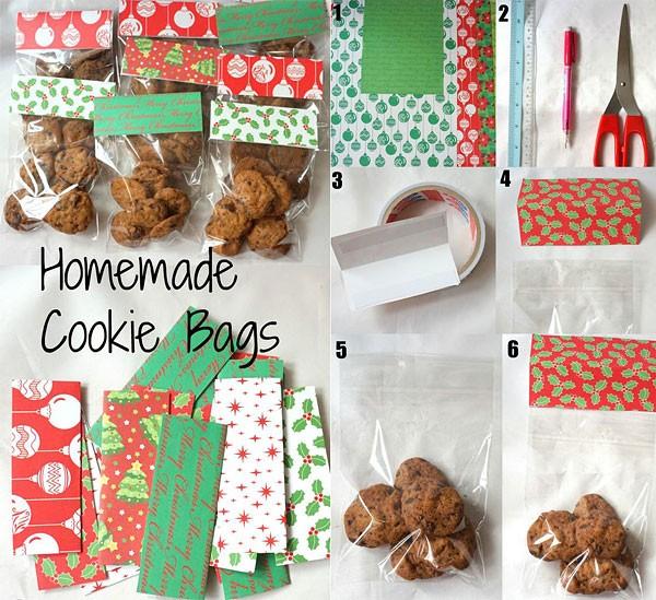 Как упаковать печенье и другие сладости с помощью скрапбумаги