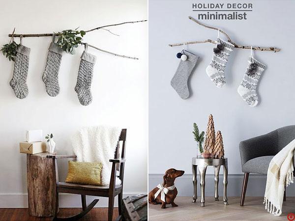Стильді минимализмдегі Жаңа жылдық декор