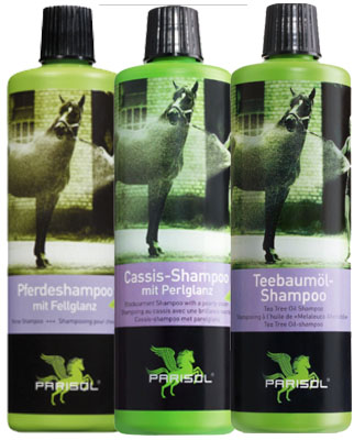 Horse shampoos by Parisol