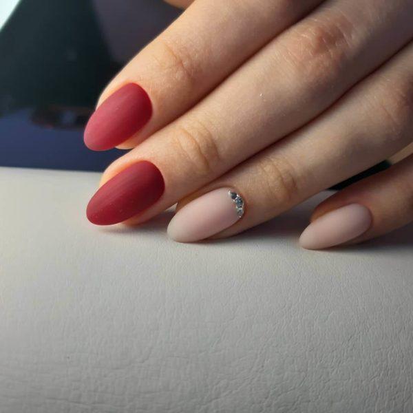 Manicure simples matte