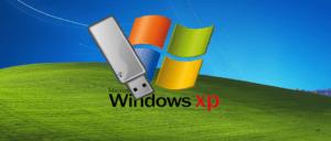 ISO görüntüsünden bir Windows XP önyükleme flash sürücü oluşturma