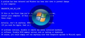 كيفية إزالة الشاشة الزرقاء من نوافذ الموت 7