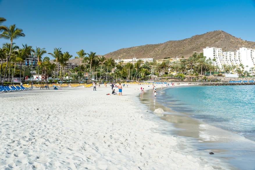pláž Anfi, Gran Canaria