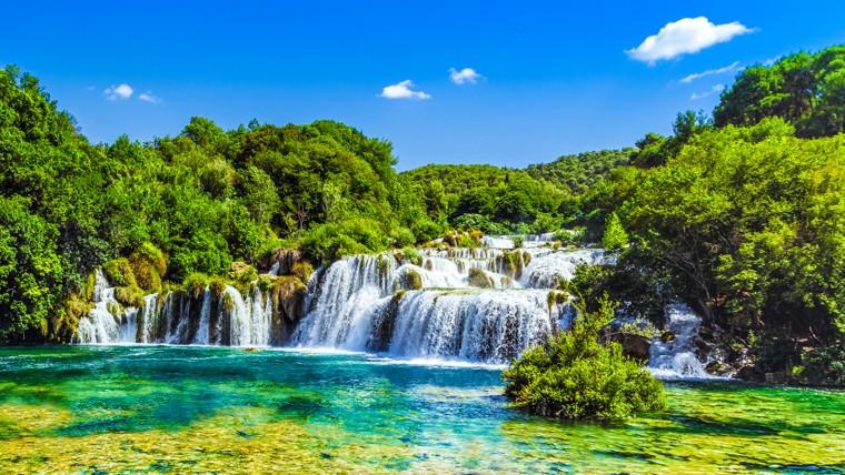 NP Krka, Chorvatsko