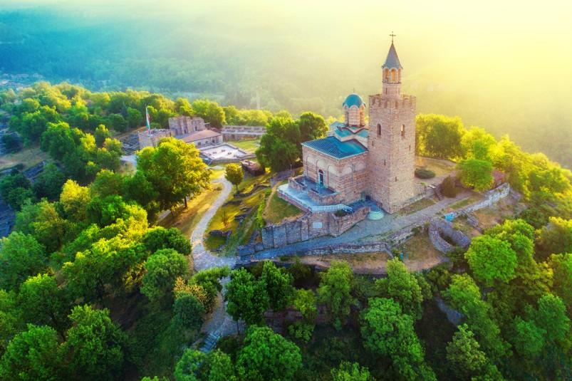 Pevnost Tsarevets, Bulharsko
