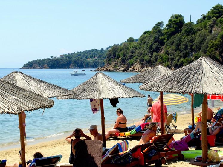 Achladia beach, Skiathos