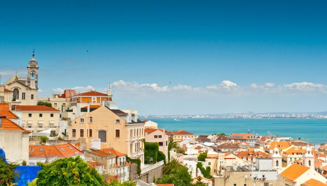 Vyhlídka Miradouro da Senhora de Monte, Portugalsko