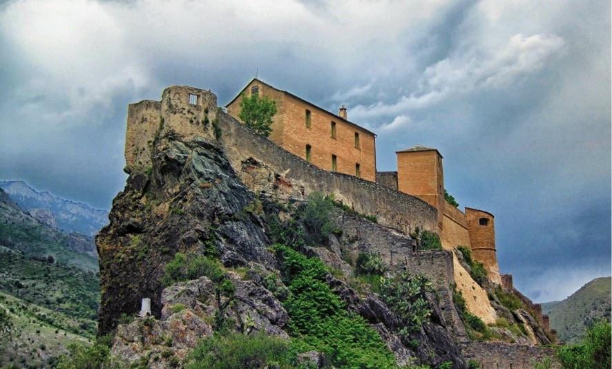 Citadelle de Corte, Korsika