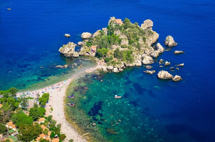 Isola Bella, Sicílie
