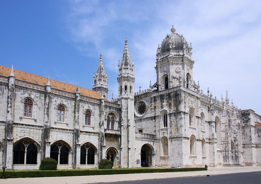 Klášter jeronimos, Lisabon, Portugalsko