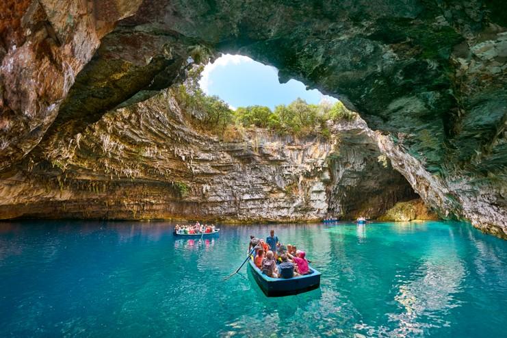 Melissani Cave, Kefalonie