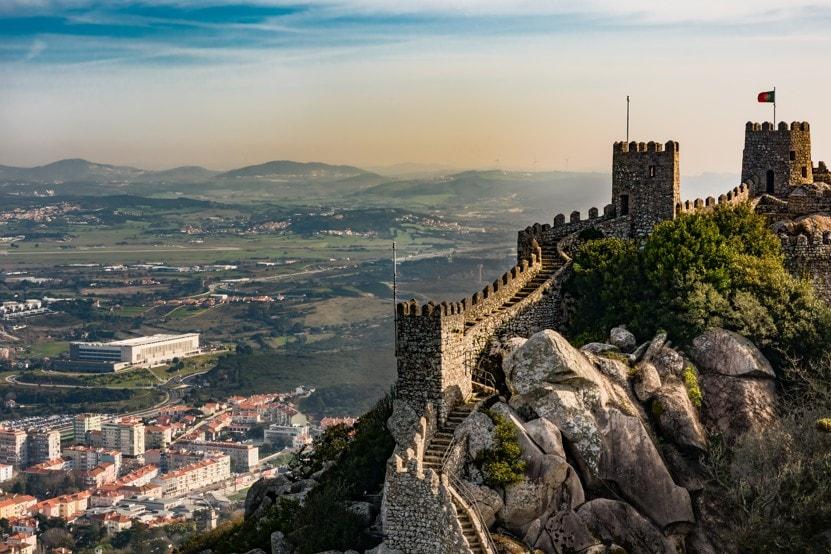 Pevnost Castelo dos Mouros, Portugalsko