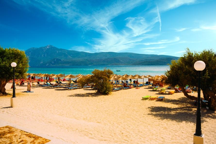 Psili Ammos beach, Samos