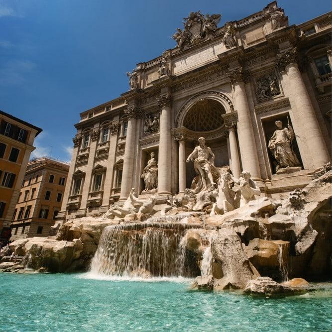 Fontaine de Trevi, Řím