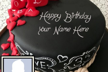 Happy Birthday Cake With Name Edit Software Free Name Photo On