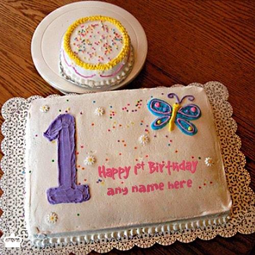 Happy Birthday Cake 1st