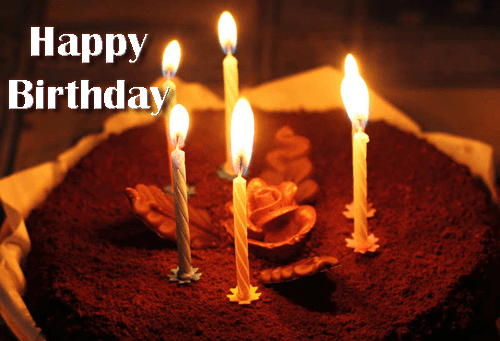 Write Your Friends Name On Birthday Cake Brownie Image
