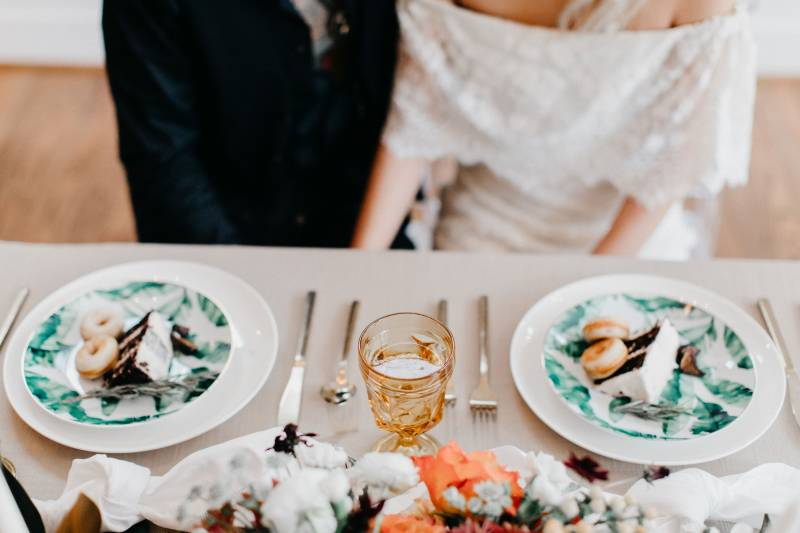 Simple Southwestern Bohemian Styled Elopement featured on Nashville Bride Guide