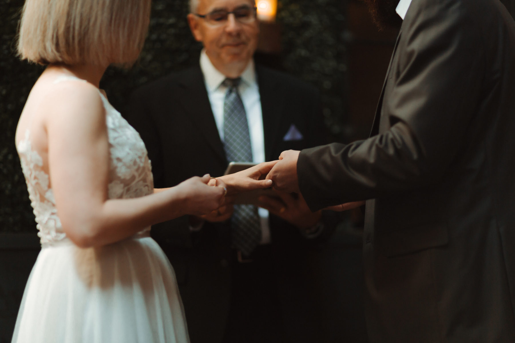 Wedding vows: Nashville brunch elopement featured on Nashville Bride Guide