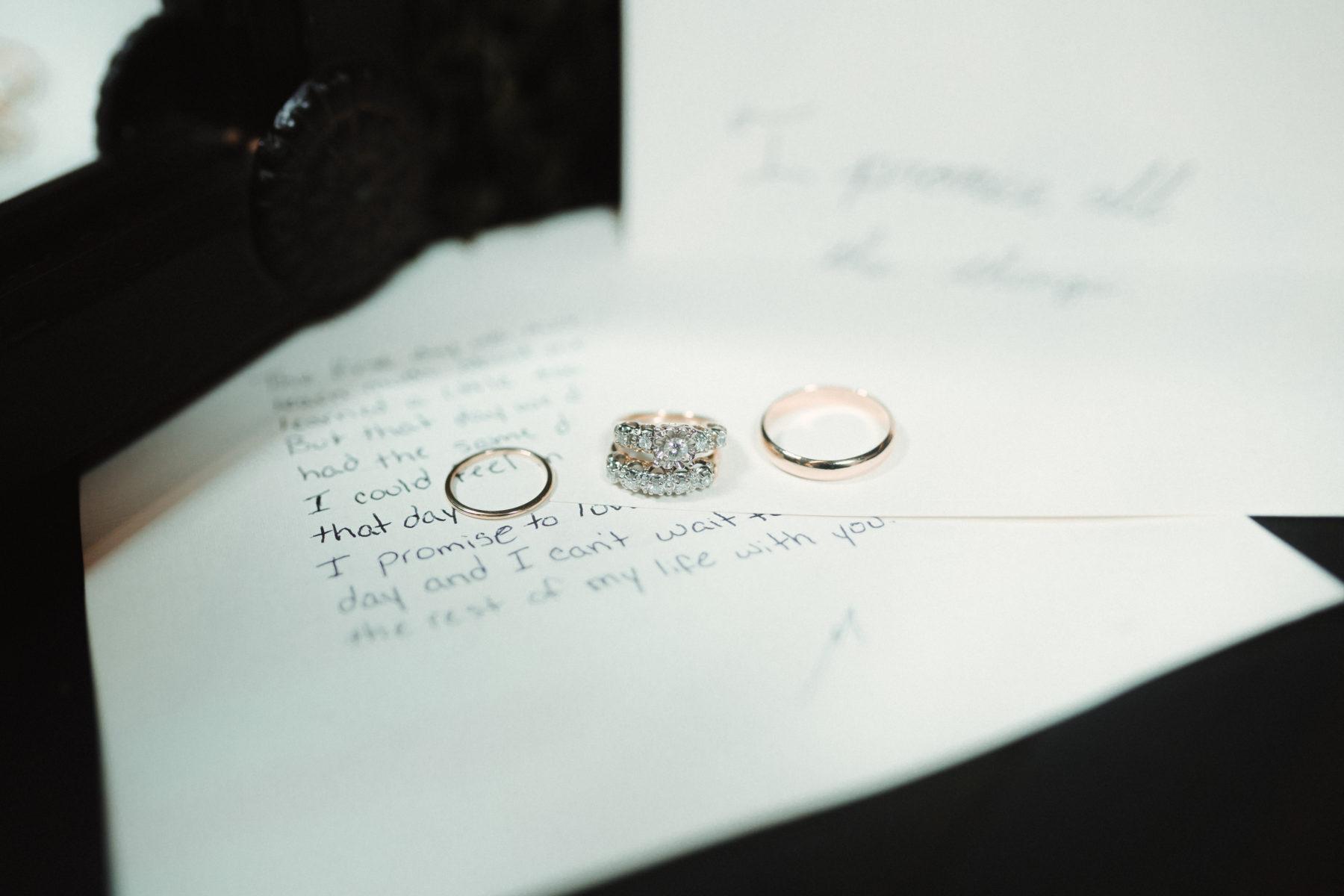 Wedding rings: Nashville brunch elopement featured on Nashville Bride Guide