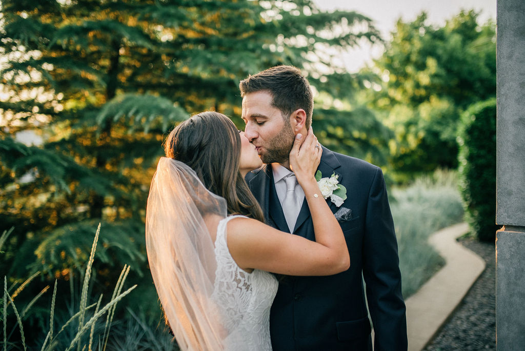 Golden hour wedding photos captured by Details Nashville