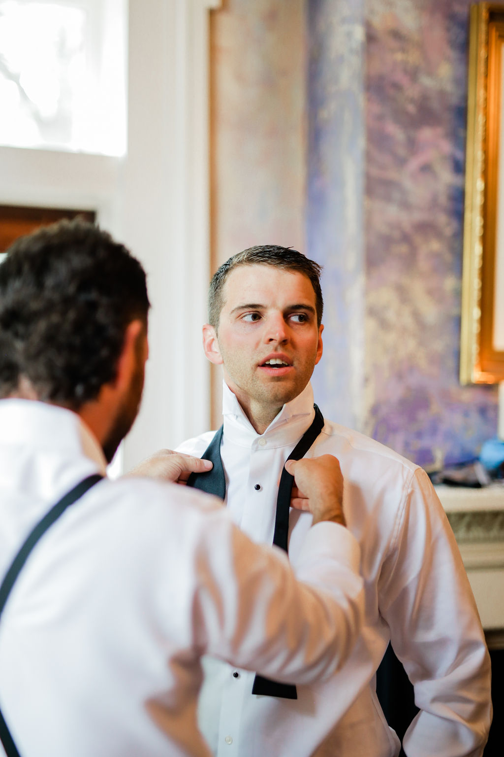 Grooms Portrait by Maria Gloer Photography