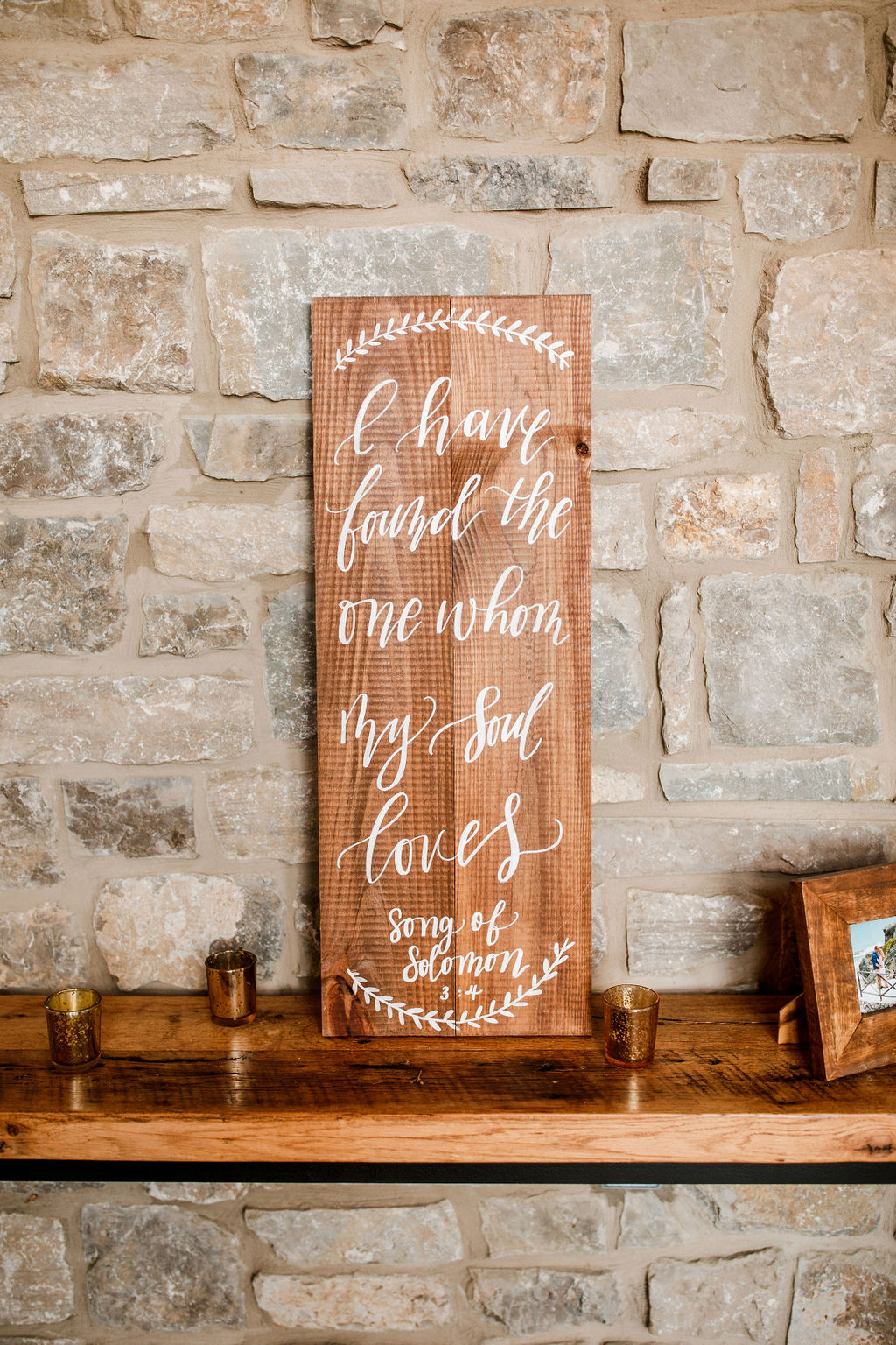 Wood Wedding Sign: Beautiful Graystone Quarry Wedding featured on Nashville Bride Guide!