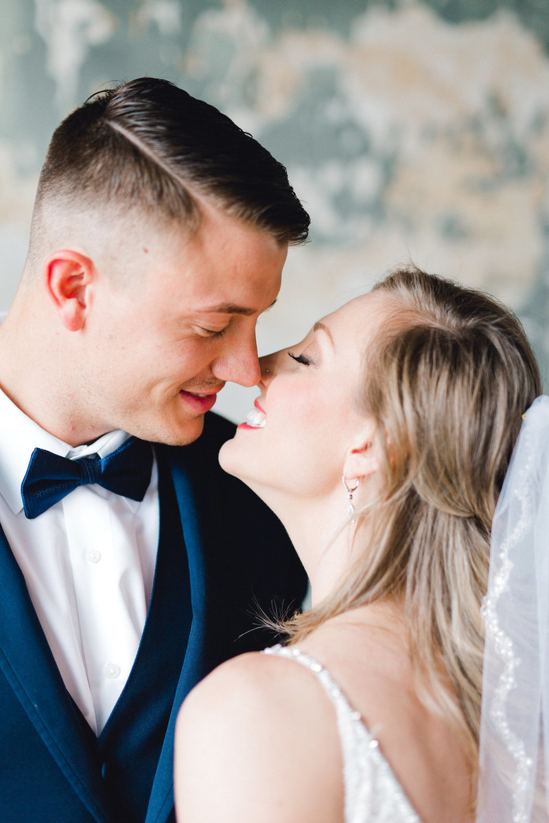 Couple Kissing - Ashton Brooke Photography