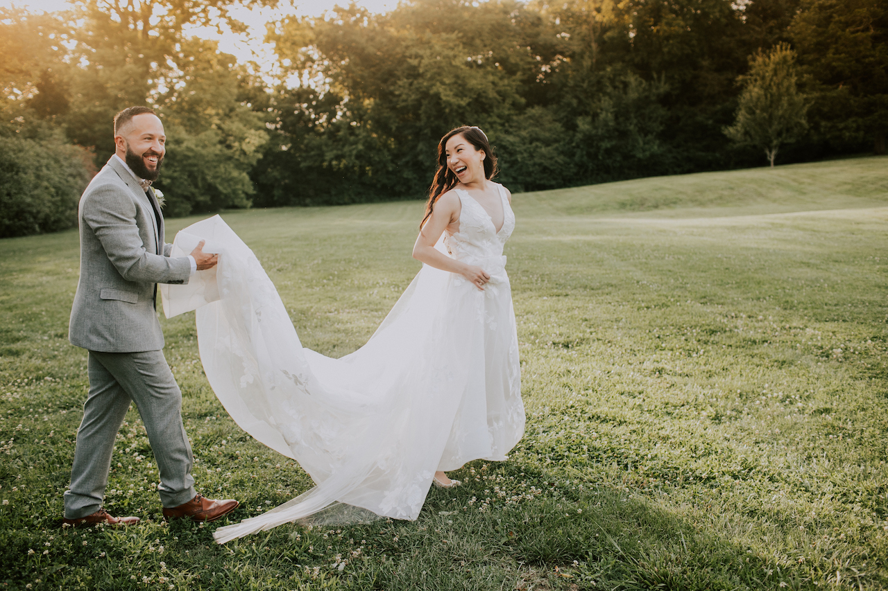 Teale Photography portrait: Summer Soiree at Cedarwood Weddings featured on Nashville Bride Guide