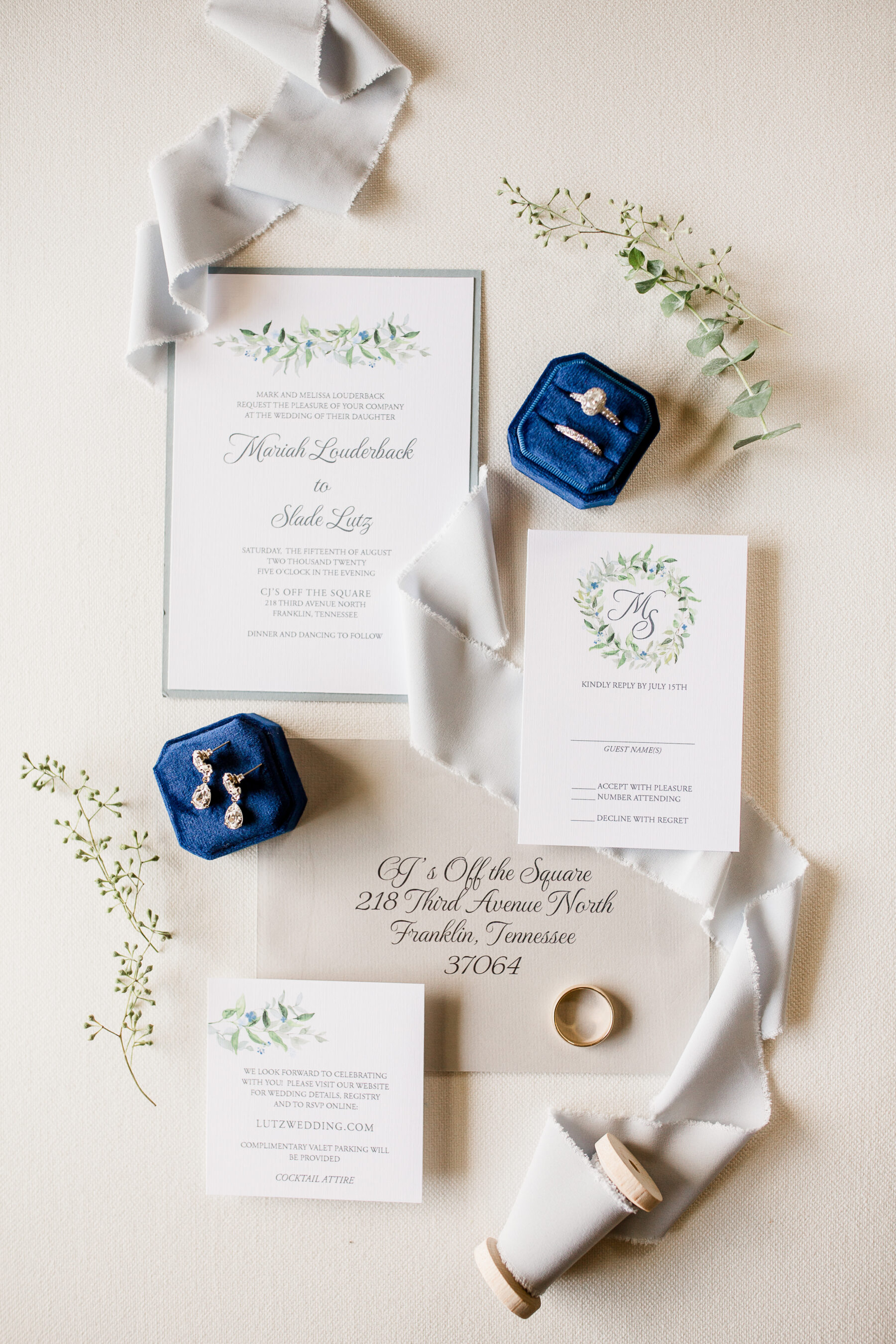 Timeless Wedding Stationery Suite   Nashville Bride Guide